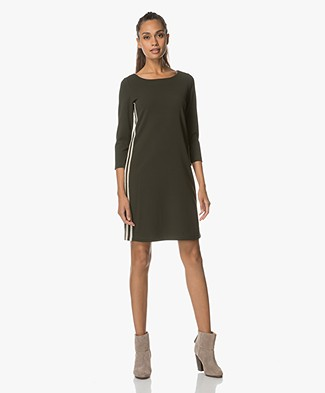 Josephine & Co Roald Crepe Jersey Dress - Army