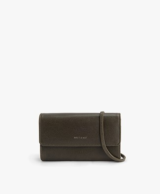 Matt & Nat Drew Vintage Cross-body Bag - Kale Green