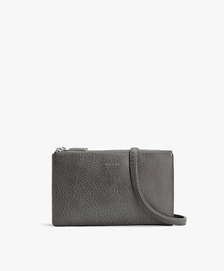 Matt & Nat Triplet Dwell Cross-Body Bag - Carbon