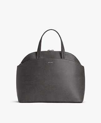 Matt & Nat Ville Dwell Satchel - Carbon