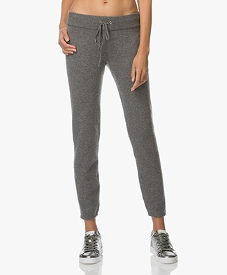 Ba&sh Jassy Knitted Cashmere Pants - Grey