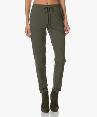 Josephine & Co Aukje Jersey Pants - Army Green