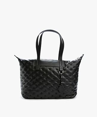 Rag & Bone Compass Everyday Tote - Black Quilt