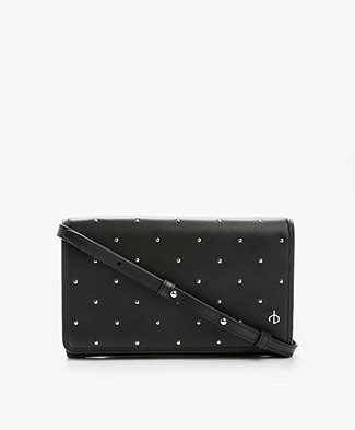 Rag & Bone Crossbody Wallet - Black Studs