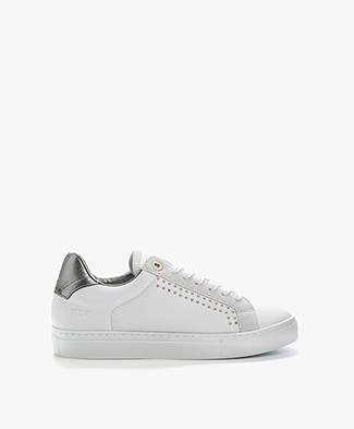 Zadig et Voltaire Skulls Sneakes - White/Silver