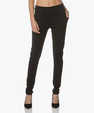 BY-BAR Mon Stretchy Rib Pants - Black