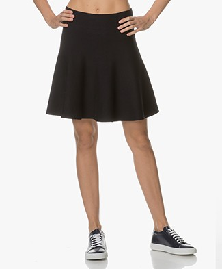 BY-BAR New Lola A-line Skirt - Dark Navy