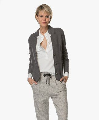 Belluna Jones Wolmix Blazervest - Charcoal