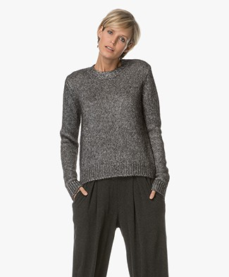 Drykorn Bekah Knitted Pullover - Silver/Grey