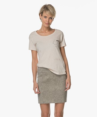 Friday's Project Organic Cotton T-Shirt - Sand