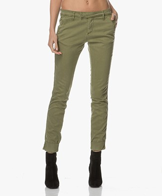 Josephine & Co Alice Katoenmix Chino - Groen