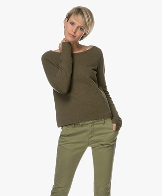 Josephine & Co Amela Double Layered Sweater - Army