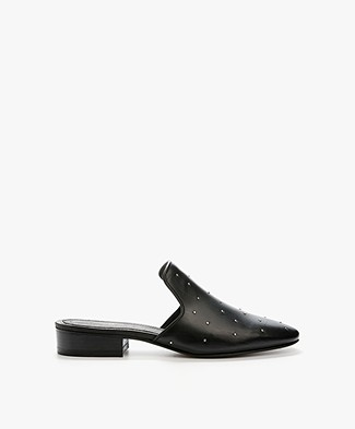 Rag & Bone Luis Loafer Mules - Black