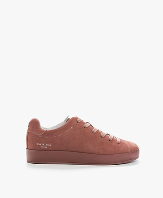 Rag & Bone RB1 Low Sneakers - Mauve Suède