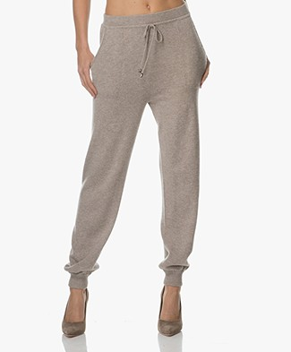 Repeat Cashmere Knit Pants - Stone