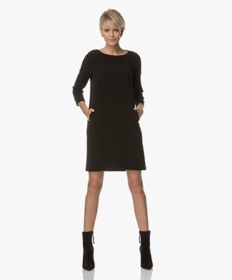 BY-BAR Zen Crepe Dress - Black