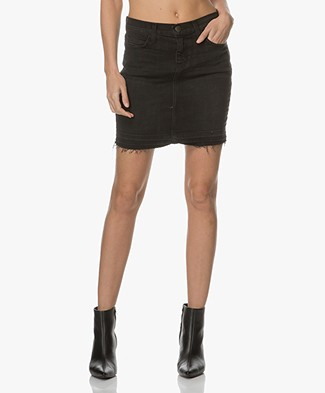 Current/Elliott The Skinny Denim Mini Skirt - Drift