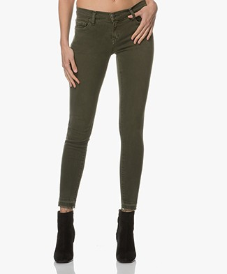 Current/Elliott The Stiletto Skinny Jeans - Forest Night