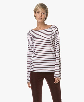 Rag & Bone / Jean Dakota Longsleeve - Port Stripe