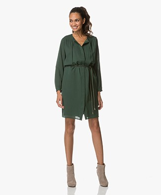 56869b200ed9f5 Closed Maelys Tunic Dress - Hamptons Green