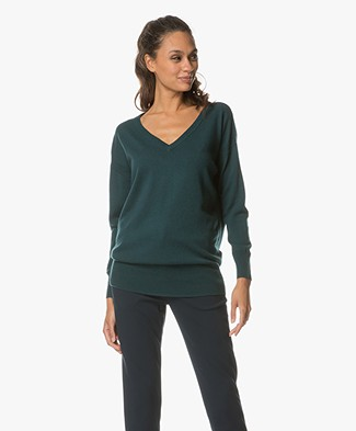 Marie Sixtine Chris Trui met Cashmere - Forest
