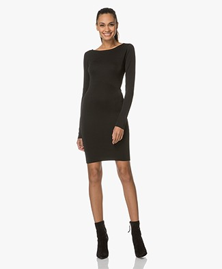 Drykorn Kessy Fitted Dress - Black