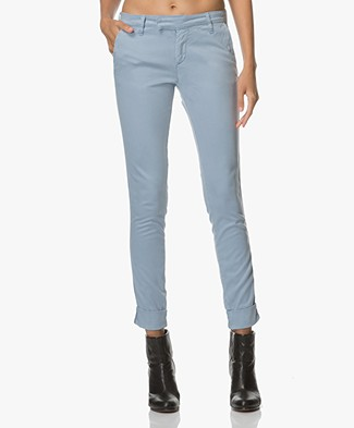 Josephine & Co Alice Cotton Mix Chino - French Blue