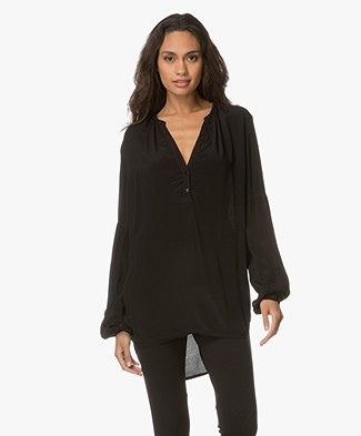 Project AJ117 Gaya Viscose Blouse - Black