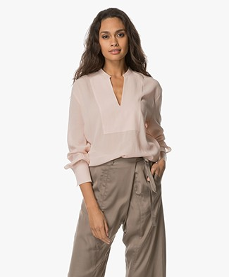 Filippa K Flowy Blouse - Tearose