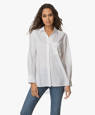 Filippa K Relaxed Shirt - Wit