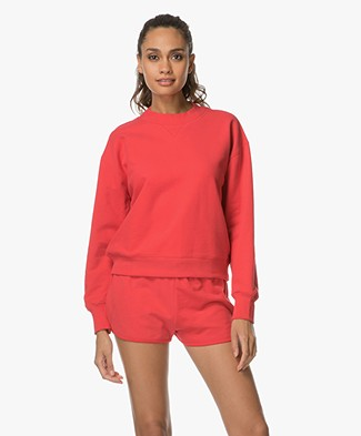 Filippa K Sweat Shirt - Scarlet