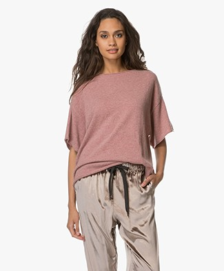 extreme cashmere N°40 Cashmere T-shirt - Jelly