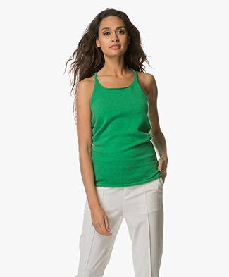 extreme cashmere N°58 Invisible Cashmere Tanktop - Pom