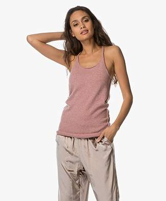 extreme cashmere N°58 Invisible Cashmere Tank Top - Jelly