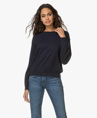 Filippa K Cashmere Sweater - Navy