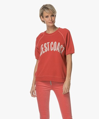 Sincerely Jules Westcoast Sweatshirt - Rood