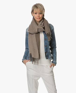 Filippa K Two-Tone Scarf - Khaki Green