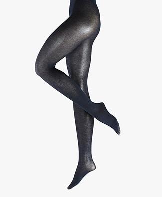 FALKE Sensual Cashmere 50 Den Tights - Navy Melange