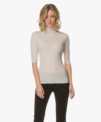 Filippa K Tencel Wool Roller Top - Porcelain