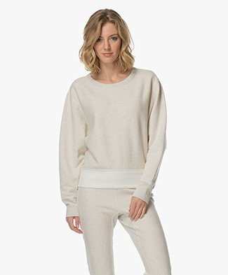 Rag & Bone Color Blocked Racer Sweater - Earl Grey