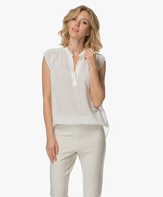 Filippa K Sleeveless Feminine Blouse - Off-white