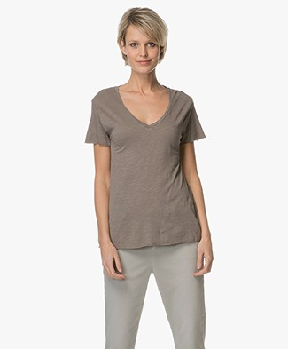 American Vintage T-shirt Jacksonville - Taupe