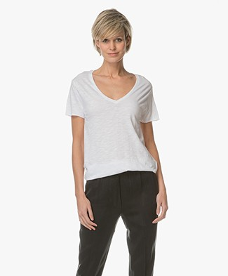 American Vintage T-shirt Jacksonville - White