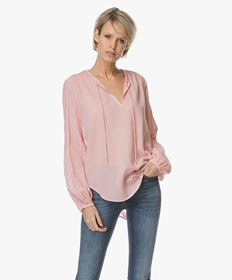 Closed Blanca Cotton Blouse - Candy