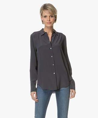Filippa K Classic Silk Shirt - Evening
