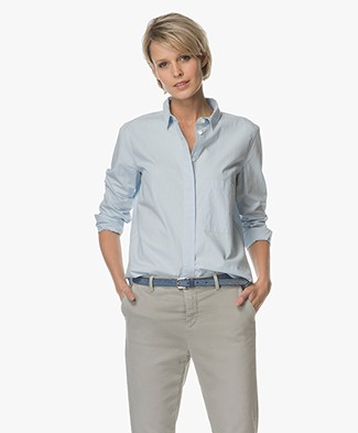 Closed Hailey Cotton Shirt - Ice Blue