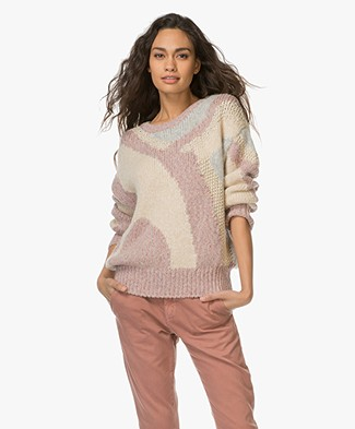 Closed Chunky Jacquard Sweater - Multi Color