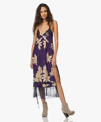 Zadig et Voltaire Roses Blossom Dress - Purple