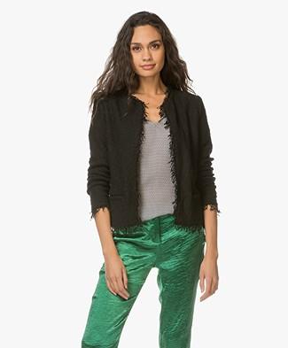 IRO Shavani Boucle Jacket - Black