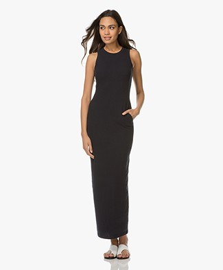 James Perse Sleeveless Long Dress - French Navy